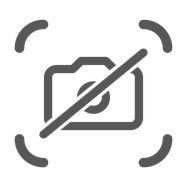 Doppelstabmattenzaun Sichtschutzstreifen - Marmormauer